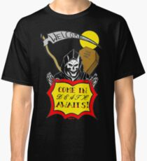 DEATH AWAITS REDUX - Art By Kev G Classic T-Shirt