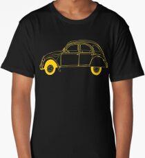 Yellow Citroën 2CV Long T-Shirt