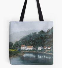 River Wye Wales Tote Bag