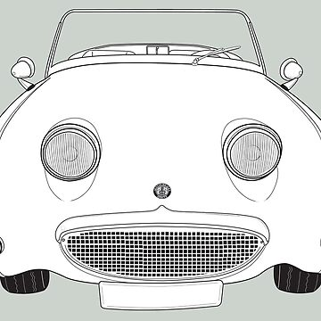 Austin-Healey Sprite Vintage Car by thedrumstick
