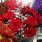 Bouquet of Red Roses for Valentine's Day by VoxCeleste