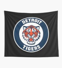 DETROIT TIGERS 8 Wall Tapestry