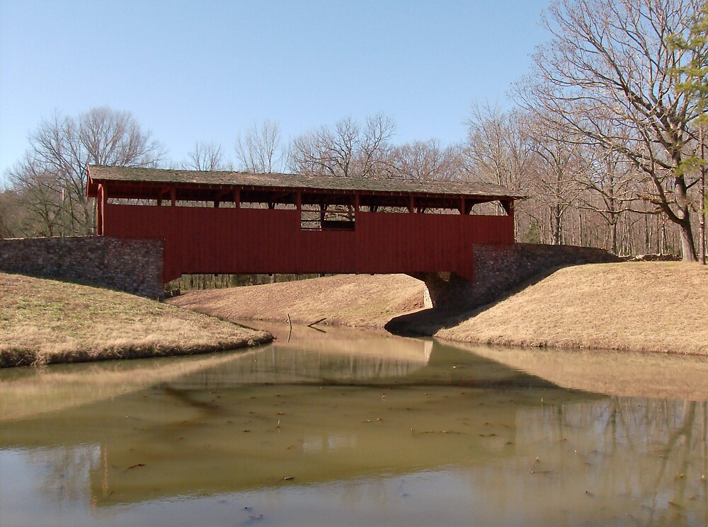 The Covered Bridge by Michael Self