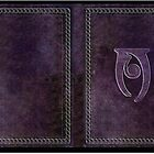 Skyrim Conjuration Spell Tome Hardback Journal by LiteraryGifts