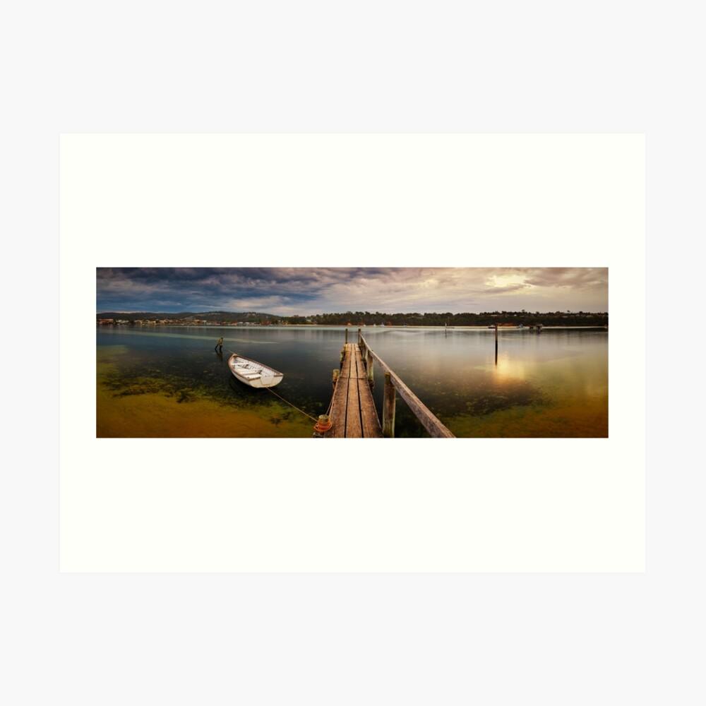 Quiet Morning, Merimbula, New South Wales, Australia Art Print