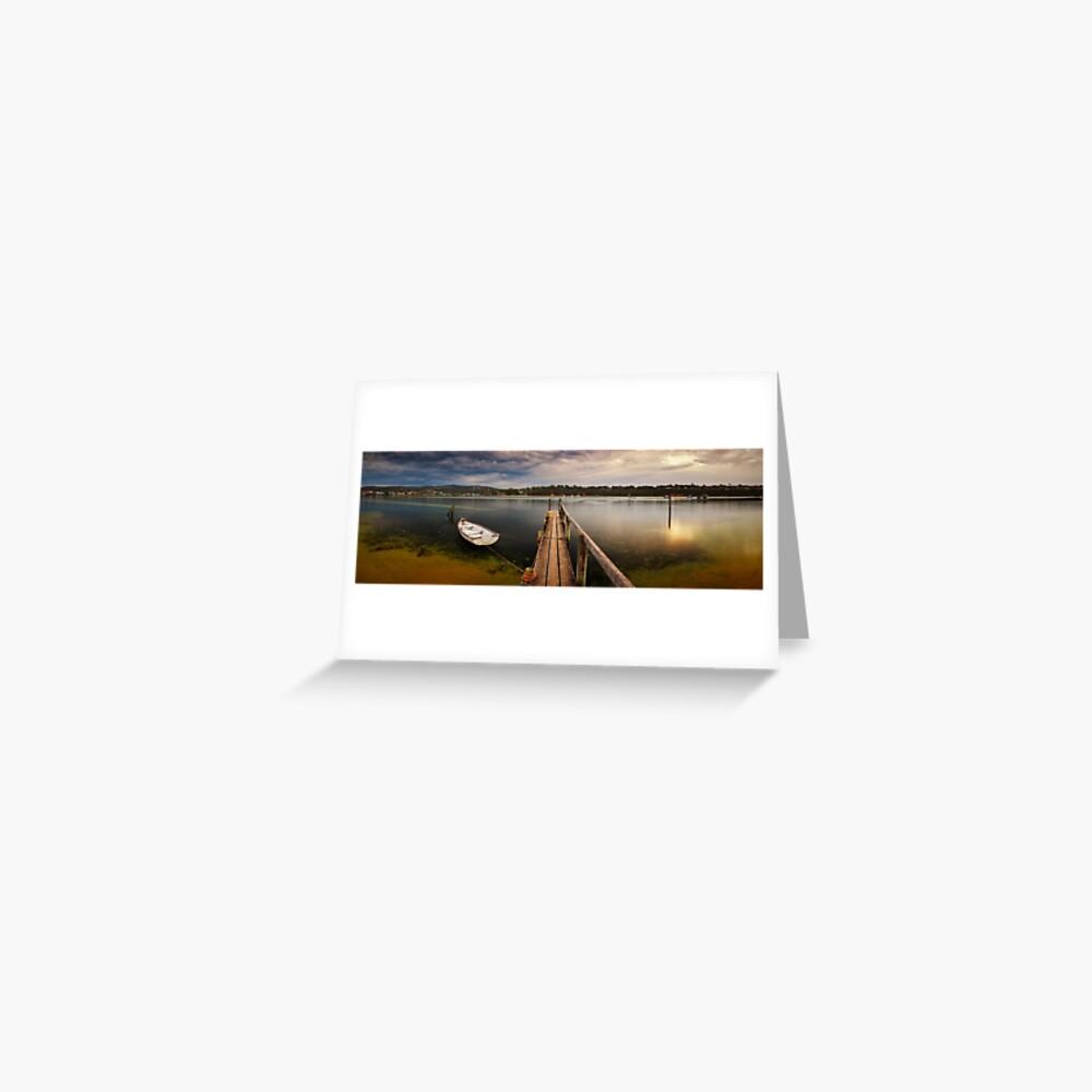 Quiet Morning, Merimbula, New South Wales, Australia Greeting Card