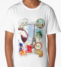 france Long T-Shirt