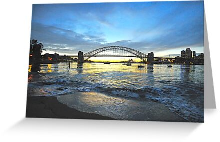 Glory - Moods Of A City - The HDR SeriesSydney Harbour, Sydney Australia by Philip Johnson
