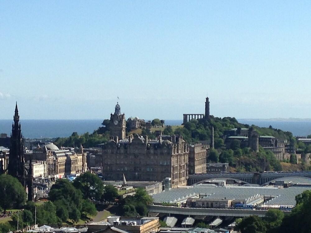 Edinburgh directions by Robert Steadman
