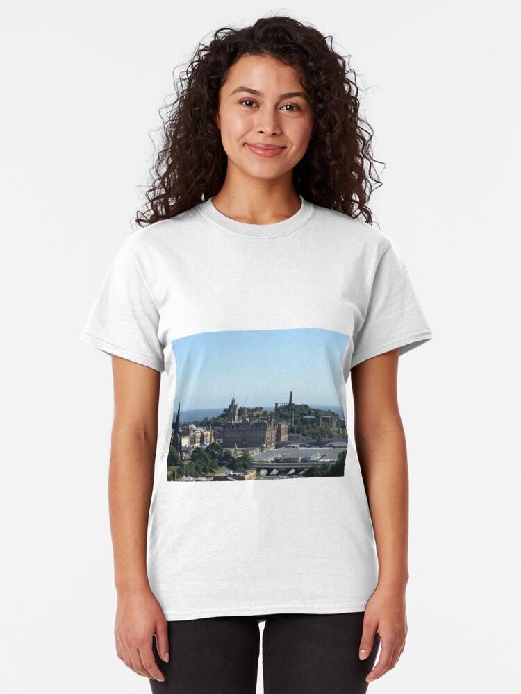 Alternate view of Edinburgh directions Classic T-Shirt