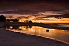 Moonta Bay Reflections by KathyT