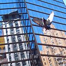 New York Reflected 1 by Nella Khanis