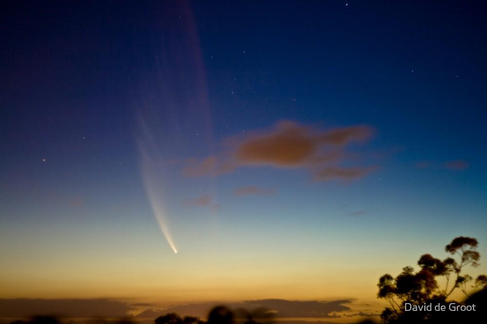 Comet McNaught by David de Groot