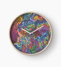 Spitting Image Clock