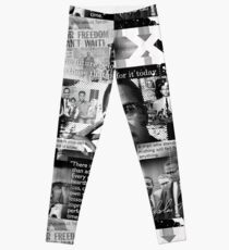 malcom x Leggings