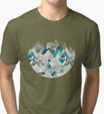 Call of the Mountains (in evergreen)  Tri-blend T-Shirt