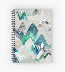 Cuaderno de espiral Llamada de las montañas (en árbol de hoja perenne)