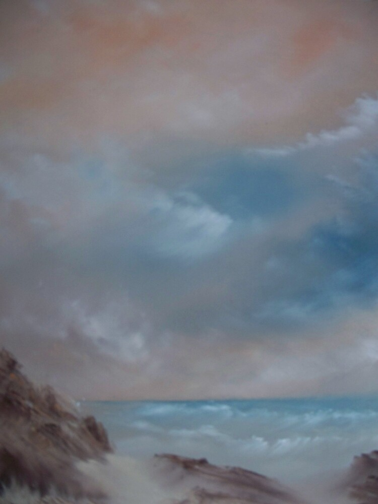 beach wave by bluecolt