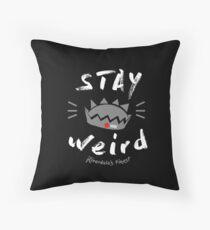 JUGHEAD STAY WEiRD Throw Pillow