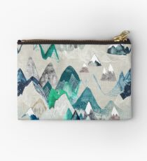 Call of the Mountains (in evergreen)  Studio Pouch