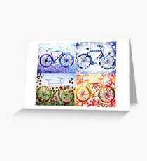 Bicycles For All Seasons Greeting Card