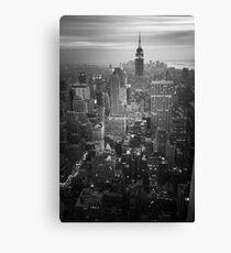 New York (v) Canvas Print