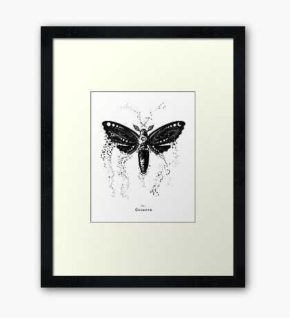 Cosmoth, Mother of the Universe Framed Print
