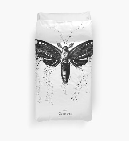 Cosmoth, Mother of the Universe Duvet Cover