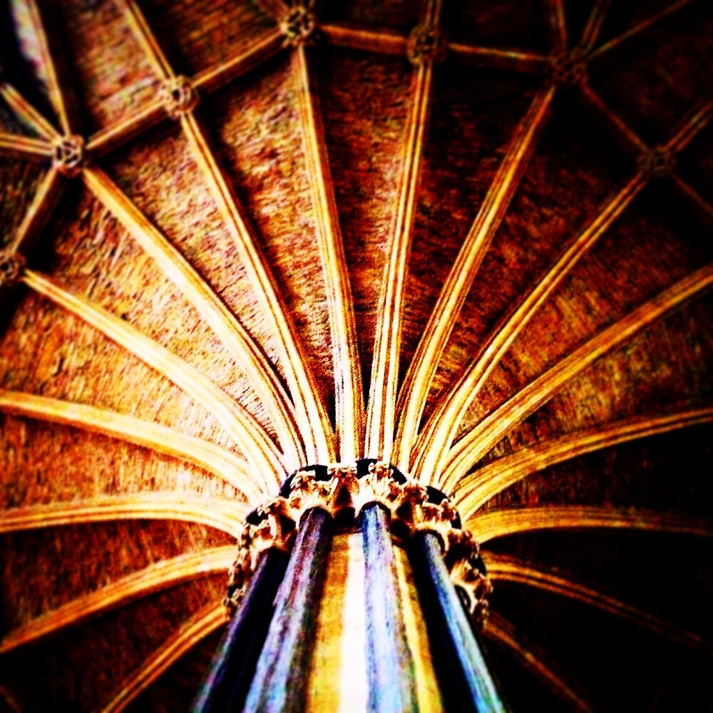 Ceiling - Chapter House by Robert Steadman