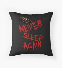 Never sleep again Throw Pillow