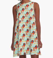 Squid No. 14 - Venetian Blinds A-Line Dress