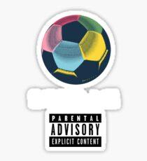 Soccer Saved Me Sticker