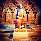 Virgin and Child - Lincoln Cathedral by Robert Steadman