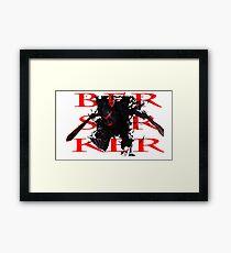 Fate/Zero 'Berserker' Framed Print