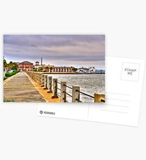 Charleston Harbour Postcards