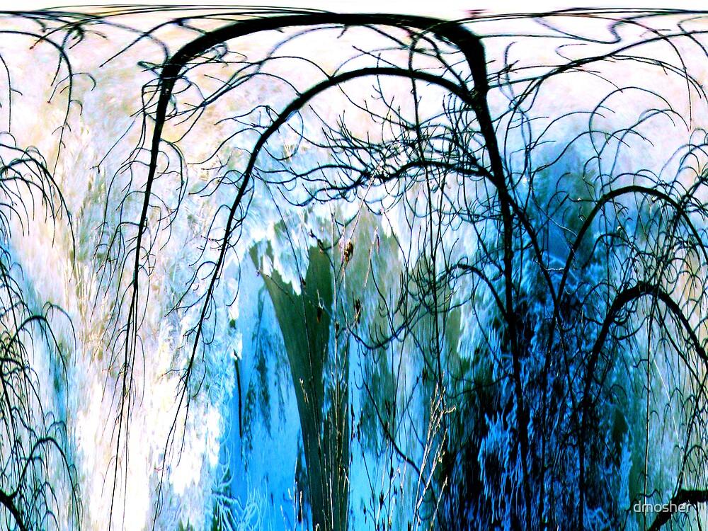Frozen Waterfalls by dmosher
