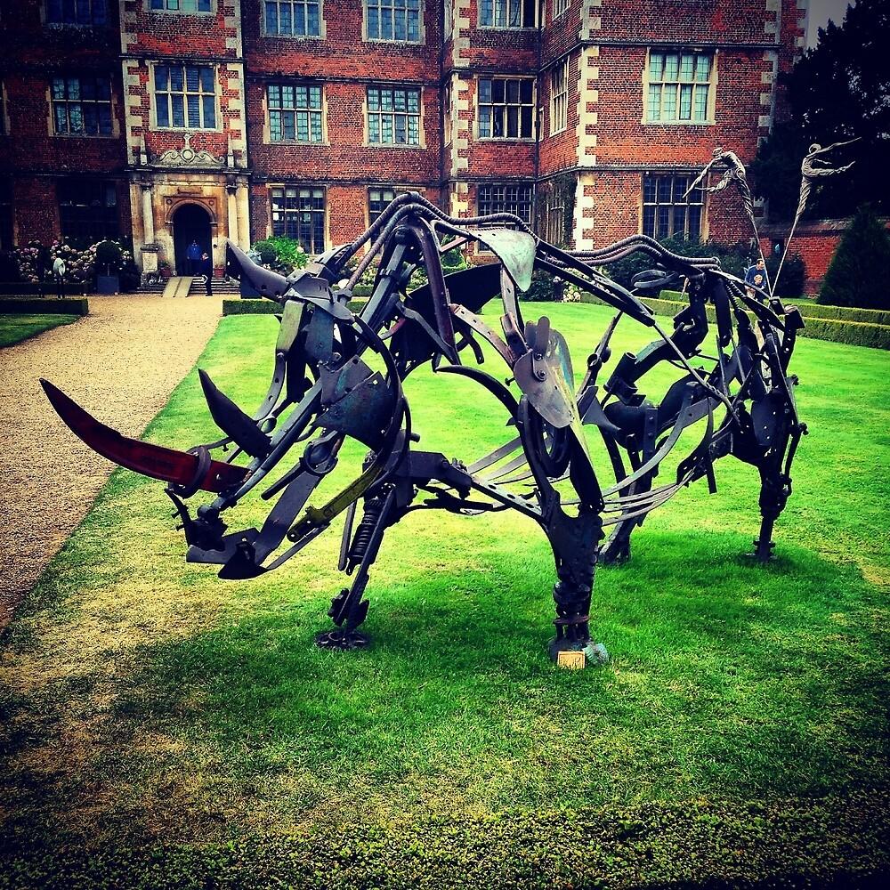 Rhino by Robert Steadman