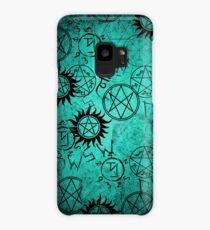 Supernatural Teal  Case/Skin for Samsung Galaxy