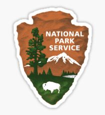 National Park Service Logo Sticker
