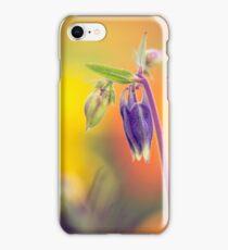 Columbine macro iPhone Case/Skin