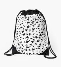 Houndstooth 2 Drawstring Bag