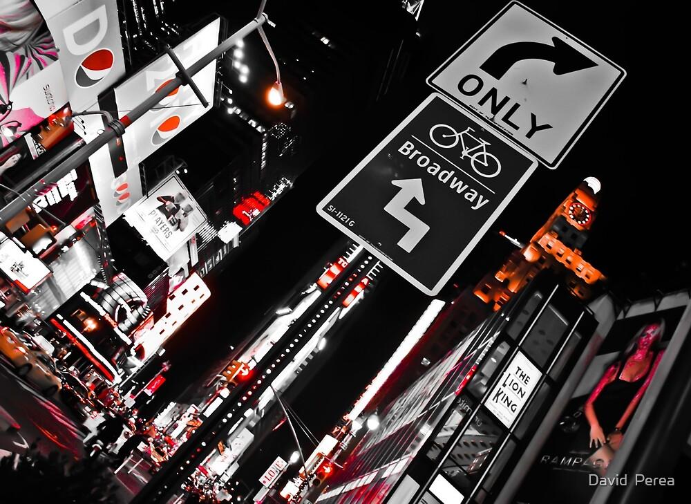 NYC Lights  by David  Perea