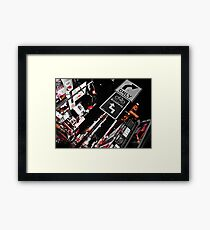NYC Lights  Framed Print