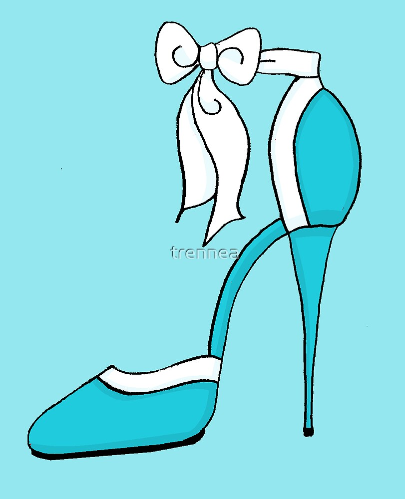 Perfect Blue Shoe by trennea