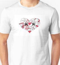 Mom Heart Unisex T-Shirt