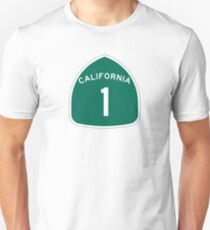 California 1 State Highway - PCH Unisex T-Shirt