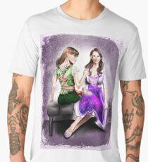 Hungary and NyoAustria (Dirndl) Men's Premium T-Shirt