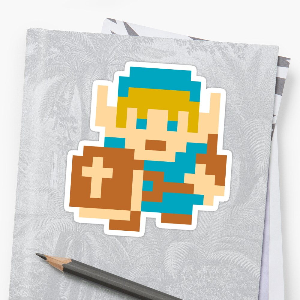 Breath of the Wild 8 Bit Link\