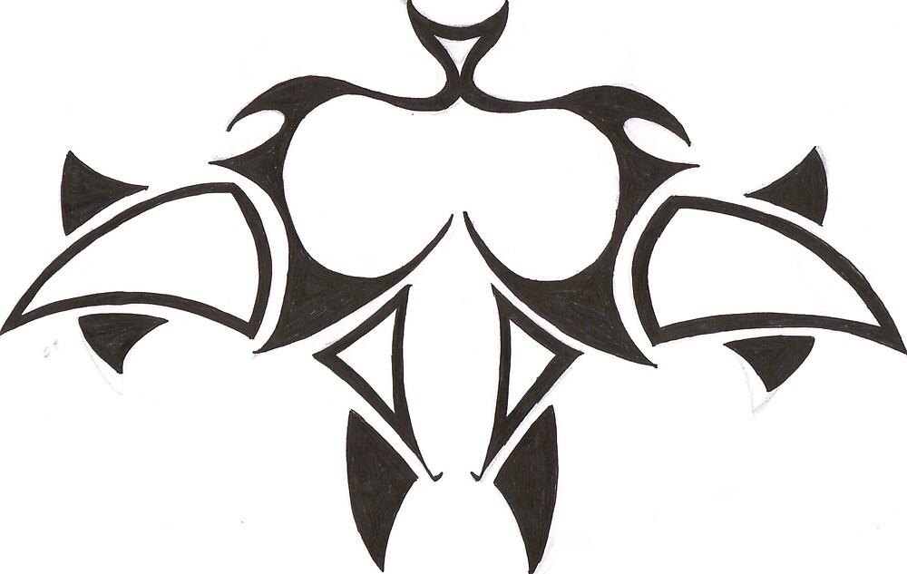 tribal tattoo design by taylor abbass
