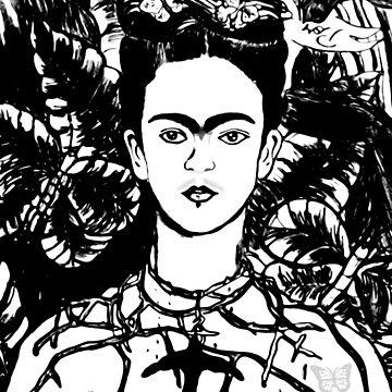 En Honor a Frida  by MaribelDesigns